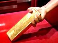 Eksponat w japońskim muzeum - sztabka złota. Jeżeli ją wyjmiesz wygrasz nagrodę