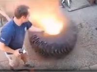 pękające opony pompowanie wypadki kompilacja Bursting tire pumping accidents compilation