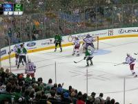 Nietypowa sytuacja na meczu hokeja