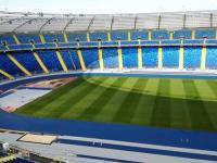 Stadion Śląski - widok z najwyższego punktu na obiekcie