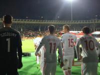 Za kulisami meczu z Armenią