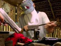 Nielegalna fabryka broni ukryta w filipińskiej dżungli