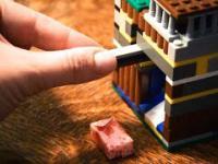 Automat do słodyczy na pieniądze.. z lego