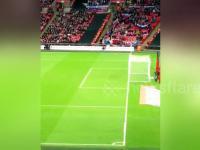Kibic zdobył nietypowego gola na Wembley