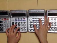 motyw z Mario zagrany na... kalkulatorach