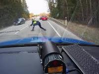 Profesjonalne zatrzymanie samochodu przez policję