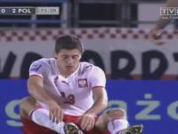 Robert Lewandowski - Debiut w Reprezentacji Polski (2008 San Marino v Polska 0-2)