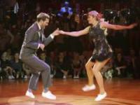 Agnieszka i Grzegorz tańczą boogie-woogie