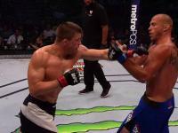 Zabójcza kombinacja kończąca walkę na UFC Gdańsk