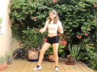 Piękny taniec pięknej Leny