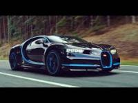 BUGATTI Chiron 0-400-0 km/h in 42 seconds - A WORLD RECORD IAA2017