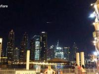 Rosyjski statek Progress ulega spaleniu nad Dubajem
