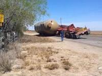 Nieudany przewóz ładunków wielkogabarytowych