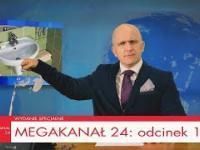 MEGAKANAŁ 24: odcinek 1 - parodia Wiadomości
