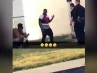 Policja kazała mu się nie ruszać