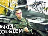 JAZDA CZOŁGIEM - REAL vs. WORLD OF TANKS