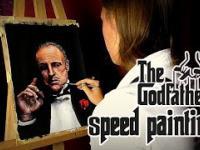 The Godfather (Marlon Brando) - Speed painting