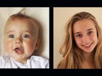 Ojciec robił zdjęcia swojej córce od urodzenia do 16 lat i zmontował z tego film