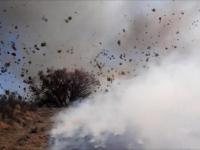 Spektakularny wir pyłowy staje w ogniu