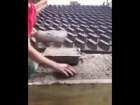 mini fabryka do produkcji cegły