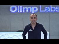 Robert Kubica w Ośrodku Badawczo-Rozwojowym Olimp Labs