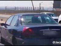 Nie ma takiego uciekania - kierowcy blokują sprawcę wypadku