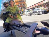 Halloween pojazdy z gwiezdnych wojen w Nowym Jorku