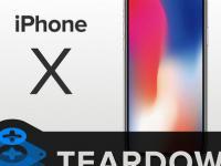 iPhone X od środka - jak jest zbudowany nowy telefon od Apple