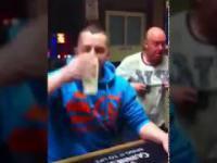 Rywalizacja w szybkim piciu piwa
