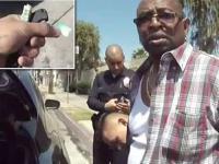 Policjanci z LAPD nieświadome nagrali jak sami podkładają narkotyki podejrzanemu