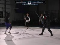Analiza taktyczna walki na miecze na mistrzostwach w Szwecji