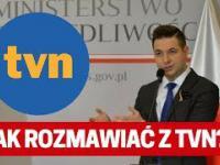 Patryk JAKI SHOW, czyli jak rozmawiać z dziennikarką TVN. Polityk nie mógł wytrzymać ze śmiechu.