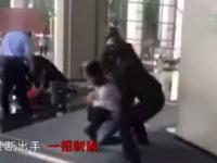 Chiny: Niesamowita akcja policjanta