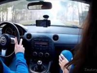 Policyjne Wyprzedzanie na Pasach, Zderzenie z Jeleniem i Chamstwo na Drogach