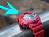 Zegarek Casio G-Shock kontra Pociąg