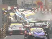 Miliony dolarów zniszczone podczas wyścigu w Macau