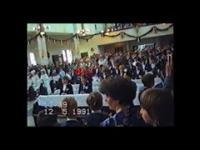 Koszalin 12.05.1991r. Pierwsza komunia św. Szkoła Podstawowa nr. 15, rocznik 1982