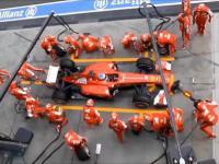 Zmiana kół w Formule 1 na przestrzeni lat