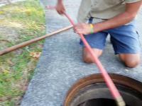 Udrożnianie kanalizacji zatkanej