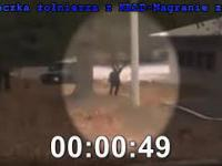 Ucieczka żołnierza z Korei Północnej-NAGRANIE