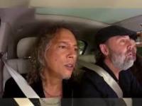 czlonkowie zespolu Metallica spiewaja przeboj rihanny Diamonds