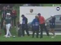 Golfista trafia do dołka w spektakularny sposób