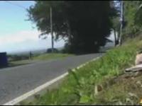 Jak wygląda 300 km/h widziane z boku?