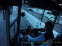 Stoicki spokój motorniczej tramwaju