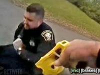Policjant z Ohio przez przypadek poraził swojego partnera podczas aresztowania