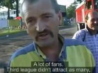 Druga liga - czyli jak policja zabrania oglądać mecze za ogrodzeniem stadionu