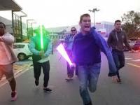 Stars Wars w prawdziwym życiu