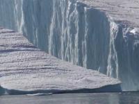 góra lodowa oddzielająca się od lodowca