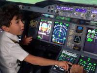 Pamiętacie 6-latka, który zadziwił pilotów? Właśnie spełnił swoje marzenie