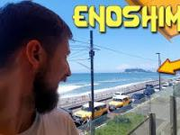 ENOSHIMA - Street food, SKLEP HELLO KITTY i tradycyjna japońska knajpa
